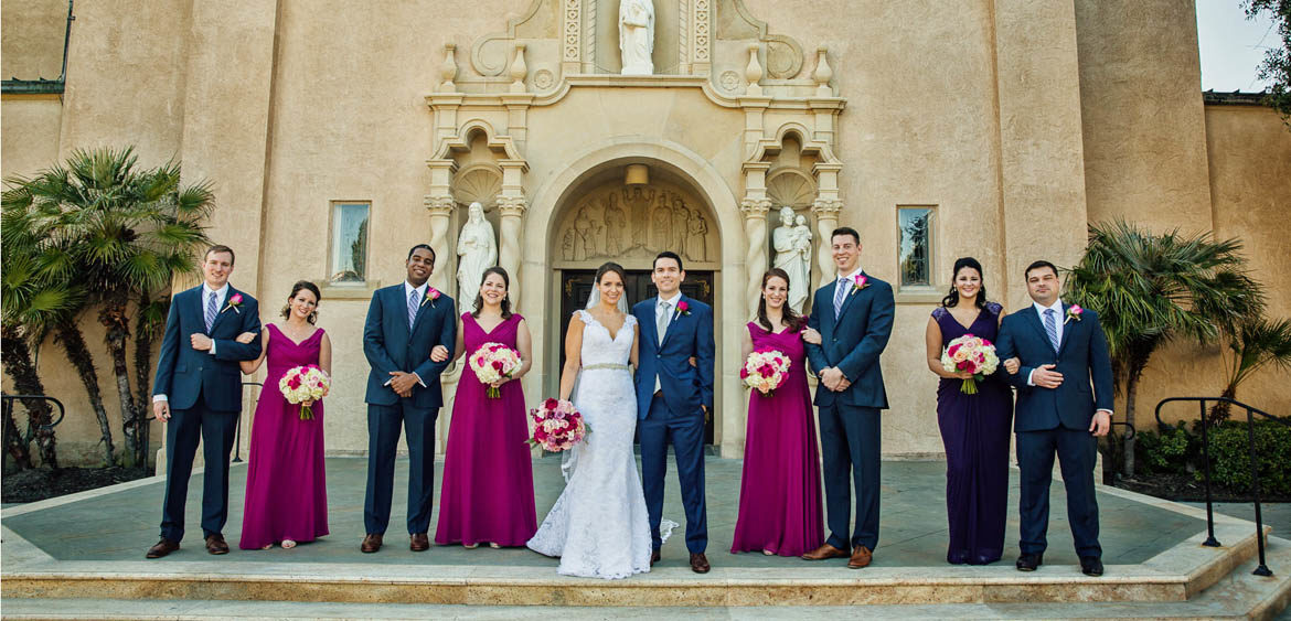 Rhodes Houston Wedding At St Anne Catholic Church Party By Steve Lee Photography