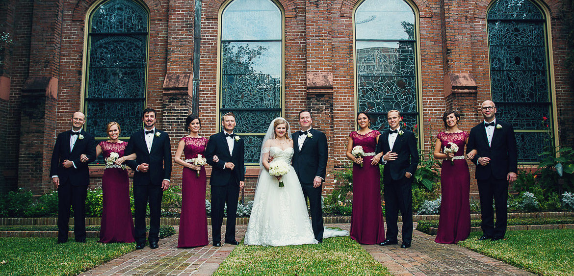 Wyatt Houston Wedding At Christ Church Cathedral Party By Steve Lee Photography