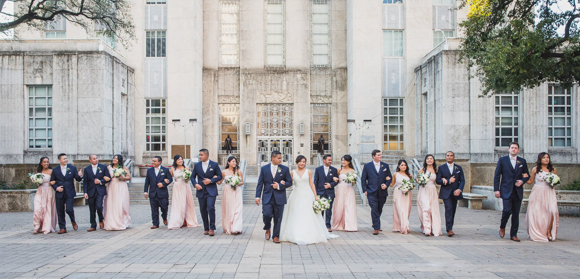 Tatel Wedding Party In Downtown Houston By Steve Lee Photography